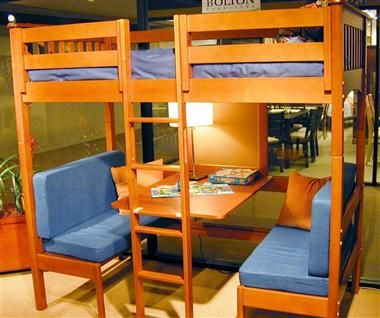Mission Cafe Twin Loft Bed Dorm Bunk Rooms And Room