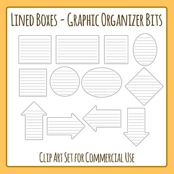 Clipart Set 12 Pieces Of Clip Art In A Pack Or Bundle For Your Worksheets Or Educational Resources All Images Or Pictures Ar Clip Art Graphic Organizers Art