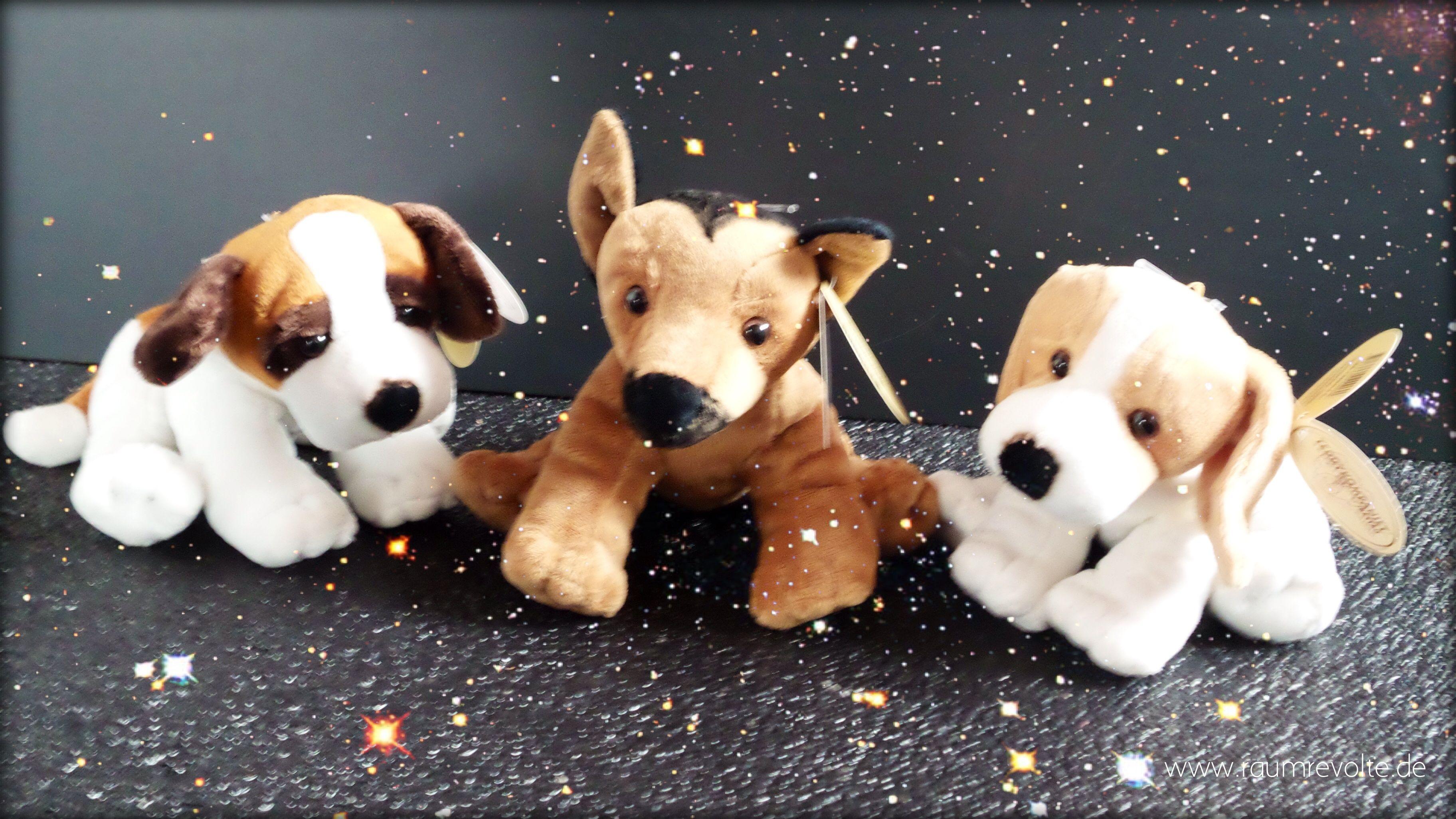 Hundebabies aus Plüsch