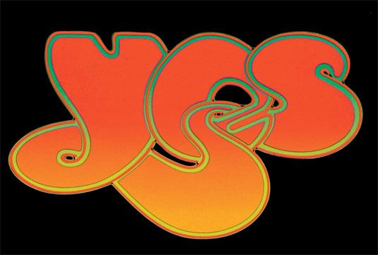 Yes band logo perfectly sums up the 1970s music scene english artist and graphic designer roger dean created this iconic bubbly logo