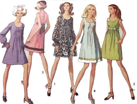 Simplicity 8236 1960s dress sewing pattern.  by retroactivefuture, $8.00