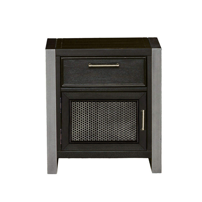 Graphite Nightstand Nightstand Black Nightstand Furniture