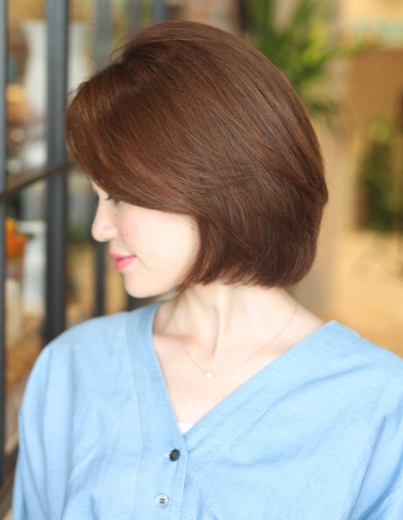 サイドシルエットが美しいボブ(KE-492) | ヘアカタログ・髪型・ヘアスタイル|AFLOAT(アフロート)表参道・銀座・名古屋の美容室・美容院