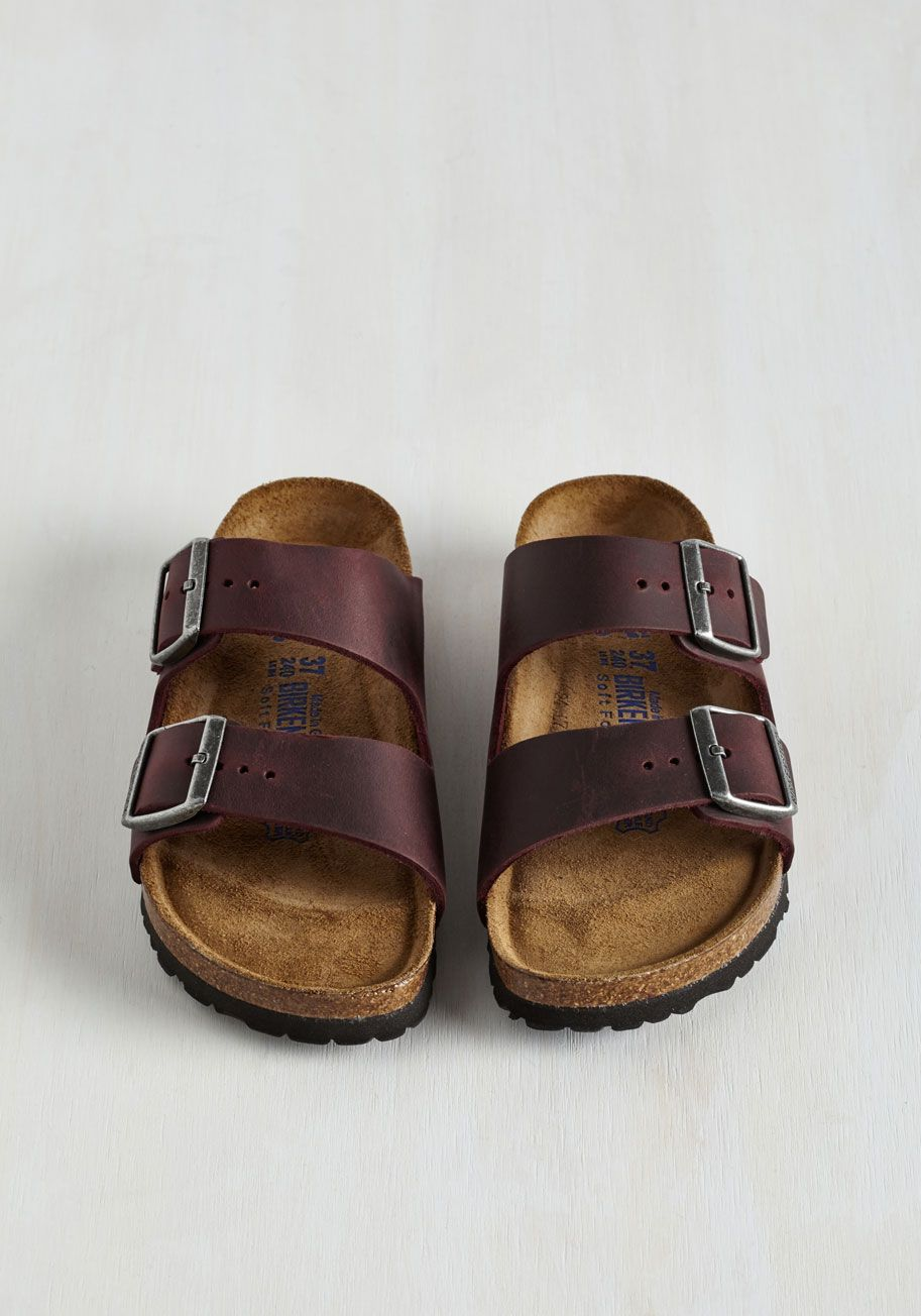 7d046719e835 Strappy Camper Sandal in Wine. Set up your tent