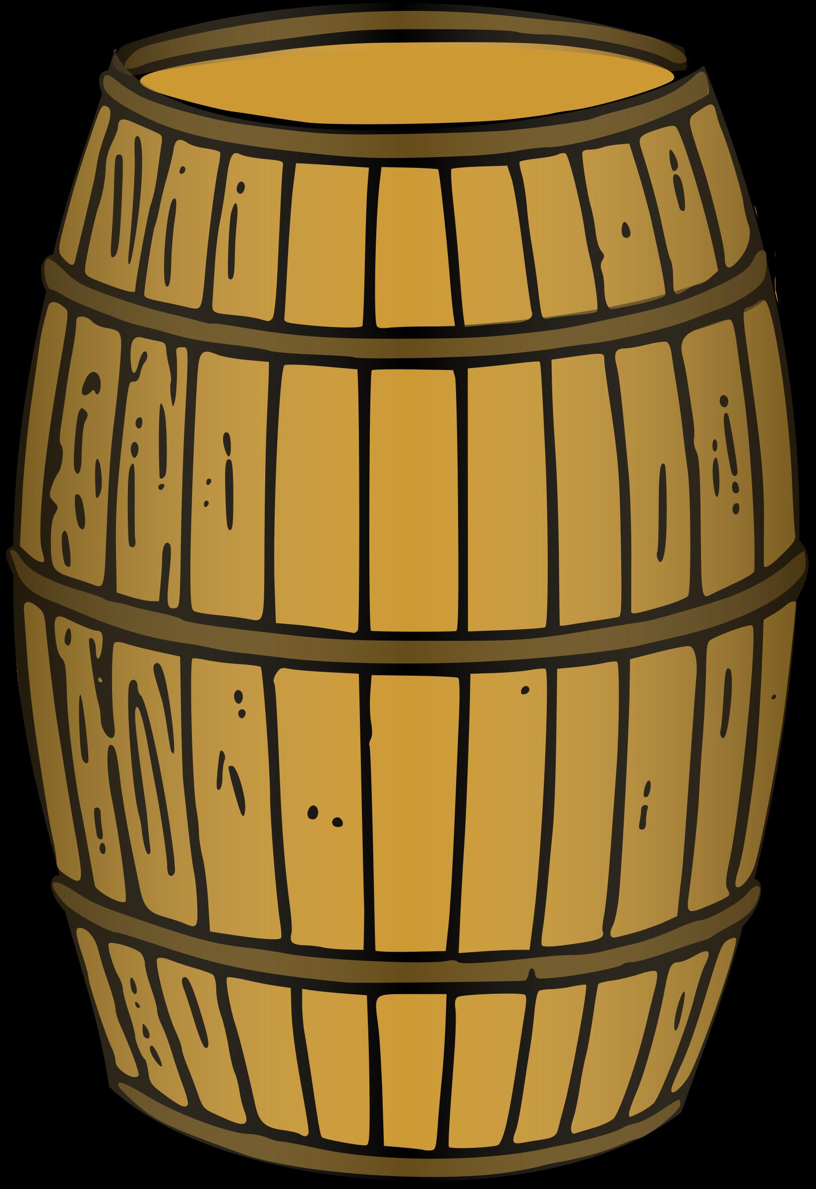 Barrel Rendered Clip Art Barrel Kegs