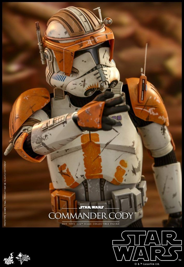 Star Wars: Episode III Revenge of the Sith – Commander Cody Collectible Figure Coming Soon