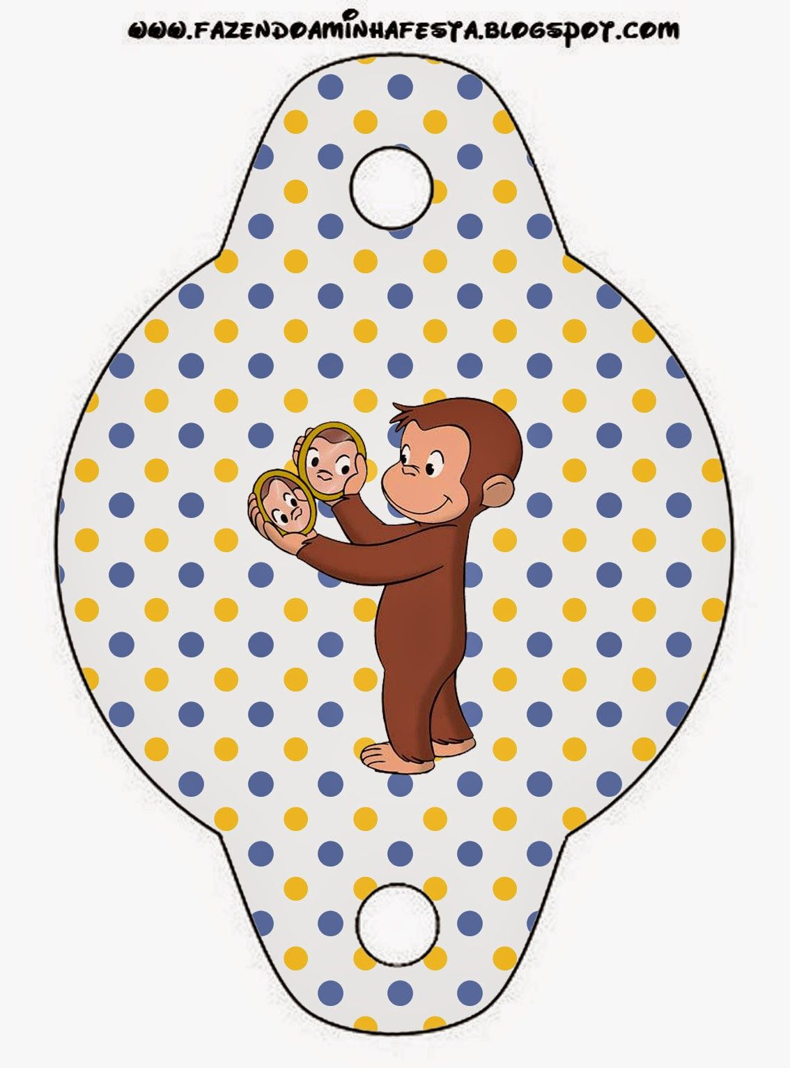 Curious George Free Party Printables. | Peter pedal fødselsdag ...