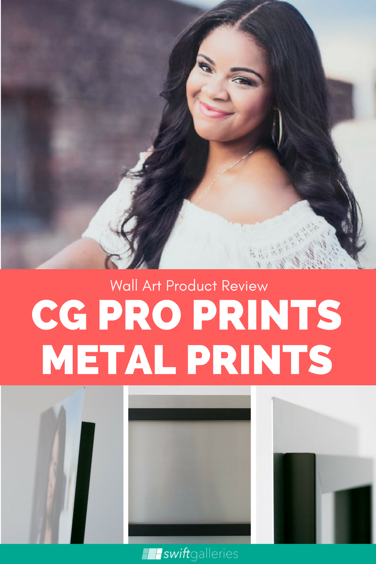 product review cg pro prints metal prints wall art product