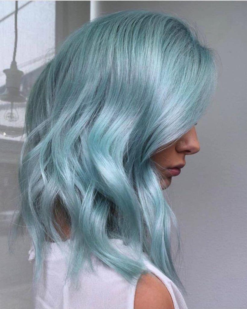 38+ Pastel mint green hair trends