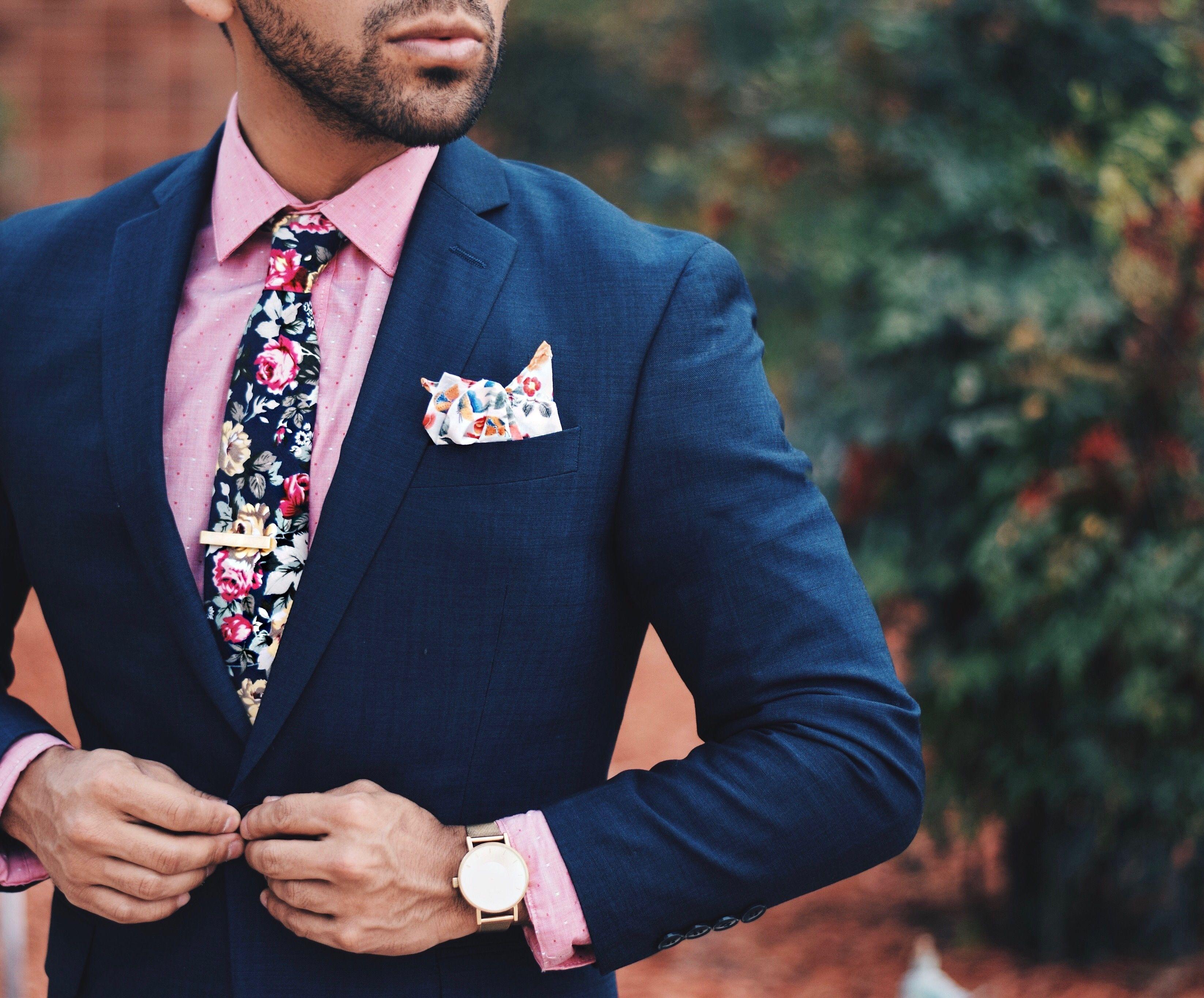 Image result for navy blazer pink pocket square | Navy