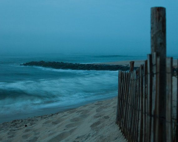 Brant Beach Jetty on Long Beach Island NJ by LeahValentinePhoto, $25.00