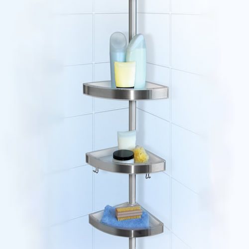 Tension Shower Caddy For Floor To Ceiling Storage Storage