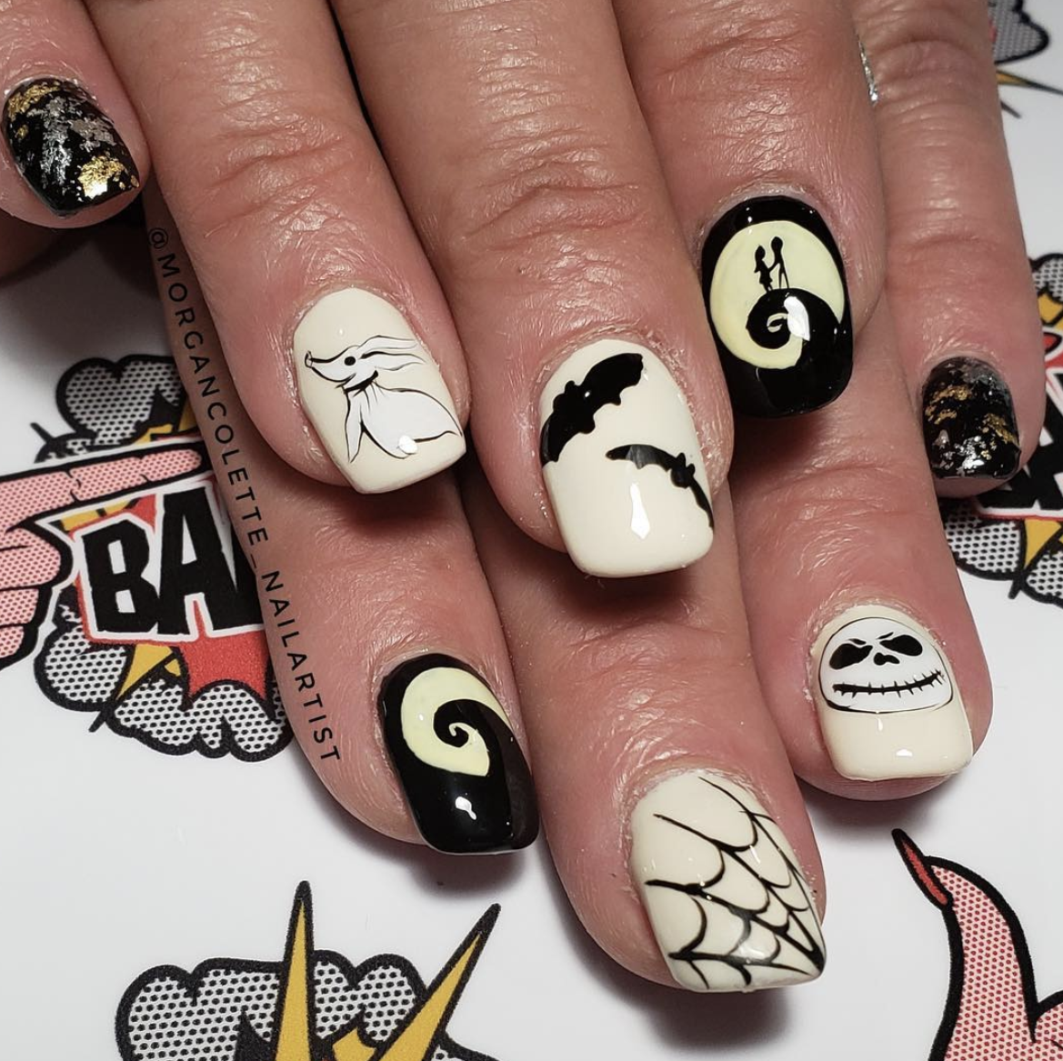Spooky (but chic) nail designs to see you through ...