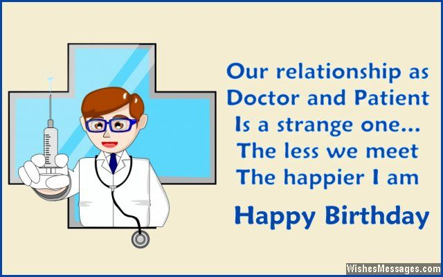 Birthday Wishes For Doctors Drdr Give Me The News Birthday