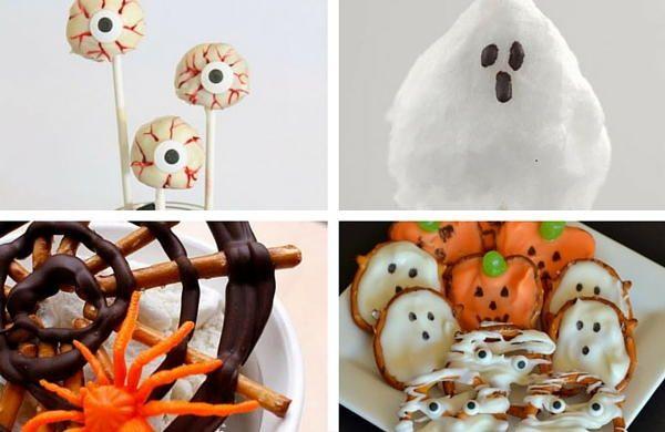 7 Easy Halloween Treats for Kids free eBook AllFreeKidsCrafts