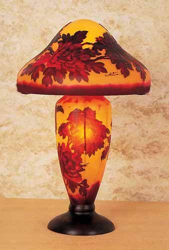 Emile Galle Part 2 Vases Lamps Furniture Lamp Glass Art