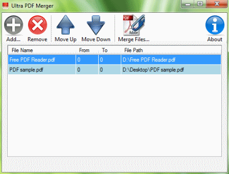 Merge Pdf Files Freeware