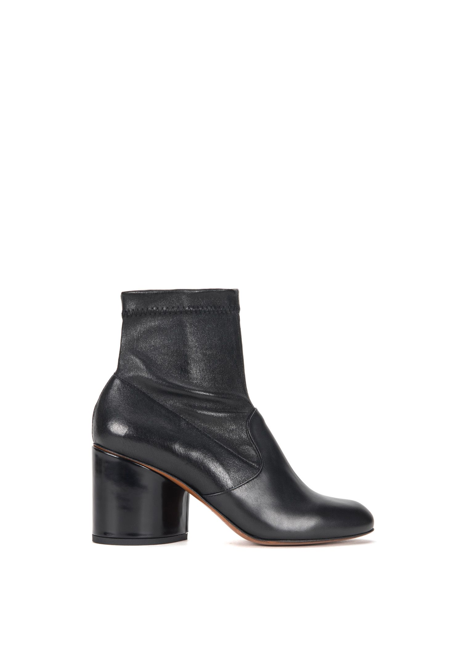 63cf4e12ad7 ROBERT CLERGERIE STRETCH LEATHER ANKLE BOOTS.  robertclergerie  shoes
