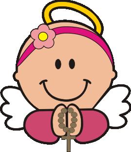 Girl Angel Angelitas Para Bautizo Tarjetas De Bautizo Nina