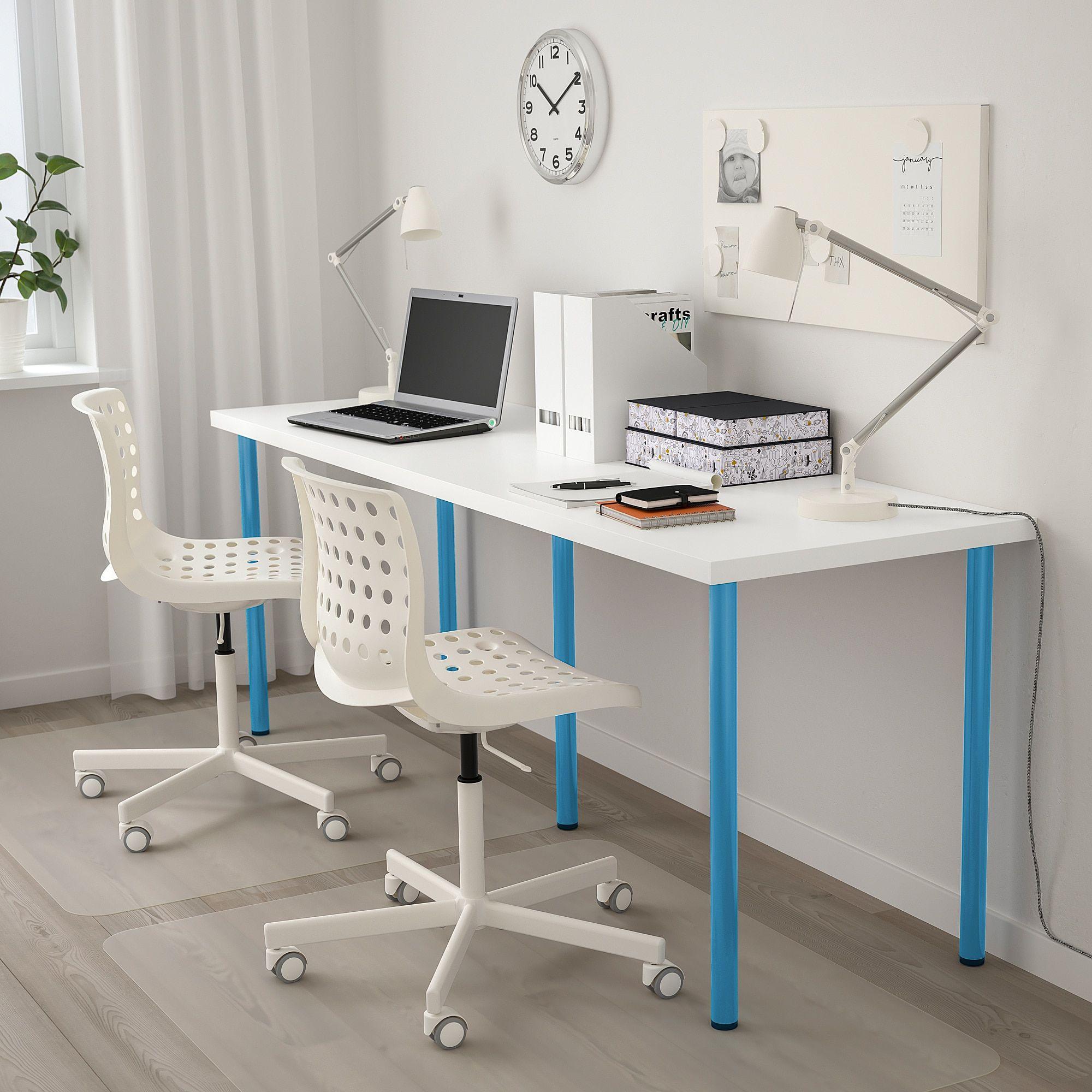 Linnmon Adils Table White Blue Official Website Ikea Alex Desk Ikea Alex Desk Kids Room Desk