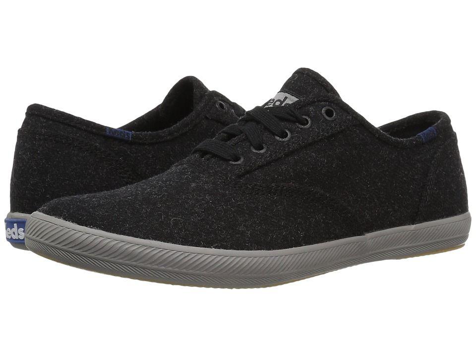 2176e0b65c74b Keds Champion Wool Men s Lace up casual Shoes Black