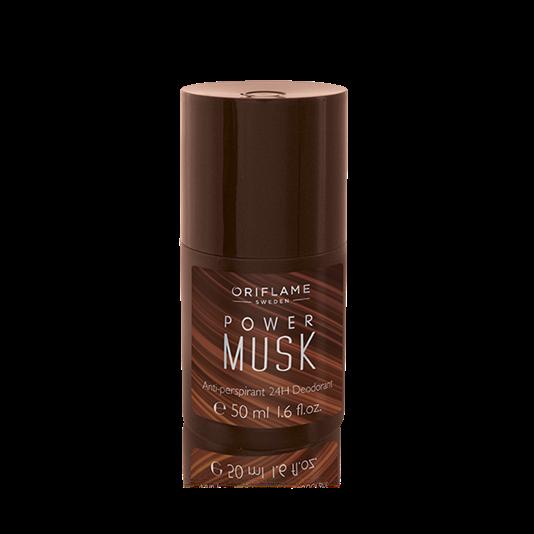 Power Musk Antiperspirant 24H Deodorant Deodoran