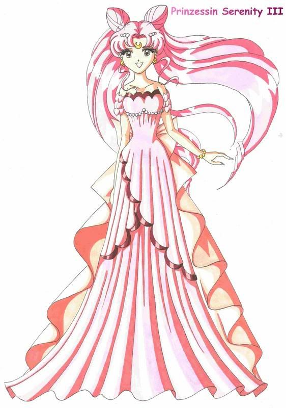 Chibiusa-- I Like How Even Grown, She Still Has Those