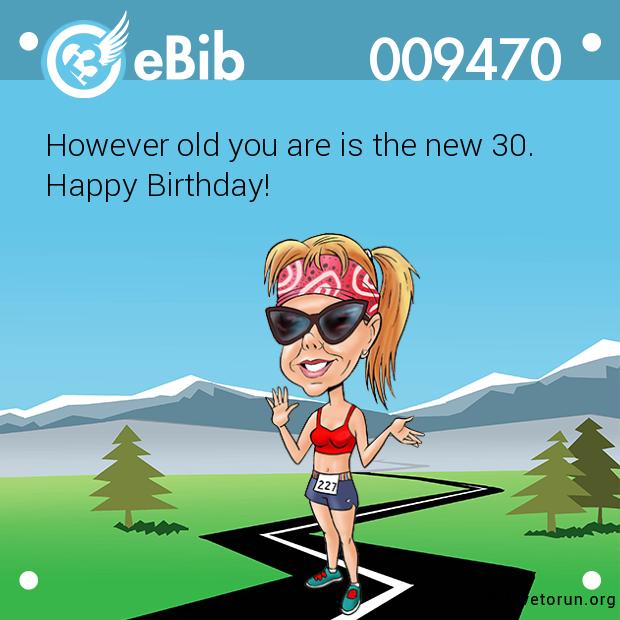 Ebib 9470 Running Humor Birthday Happy Birthday