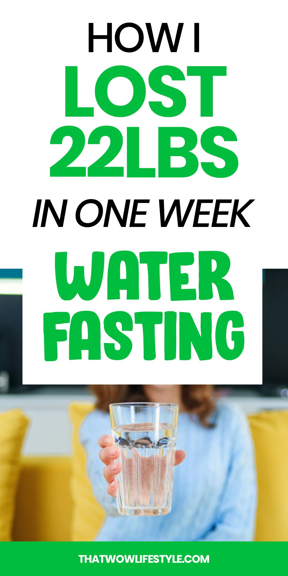 My 7-Day Water Fasting Results | Best Way To Lose