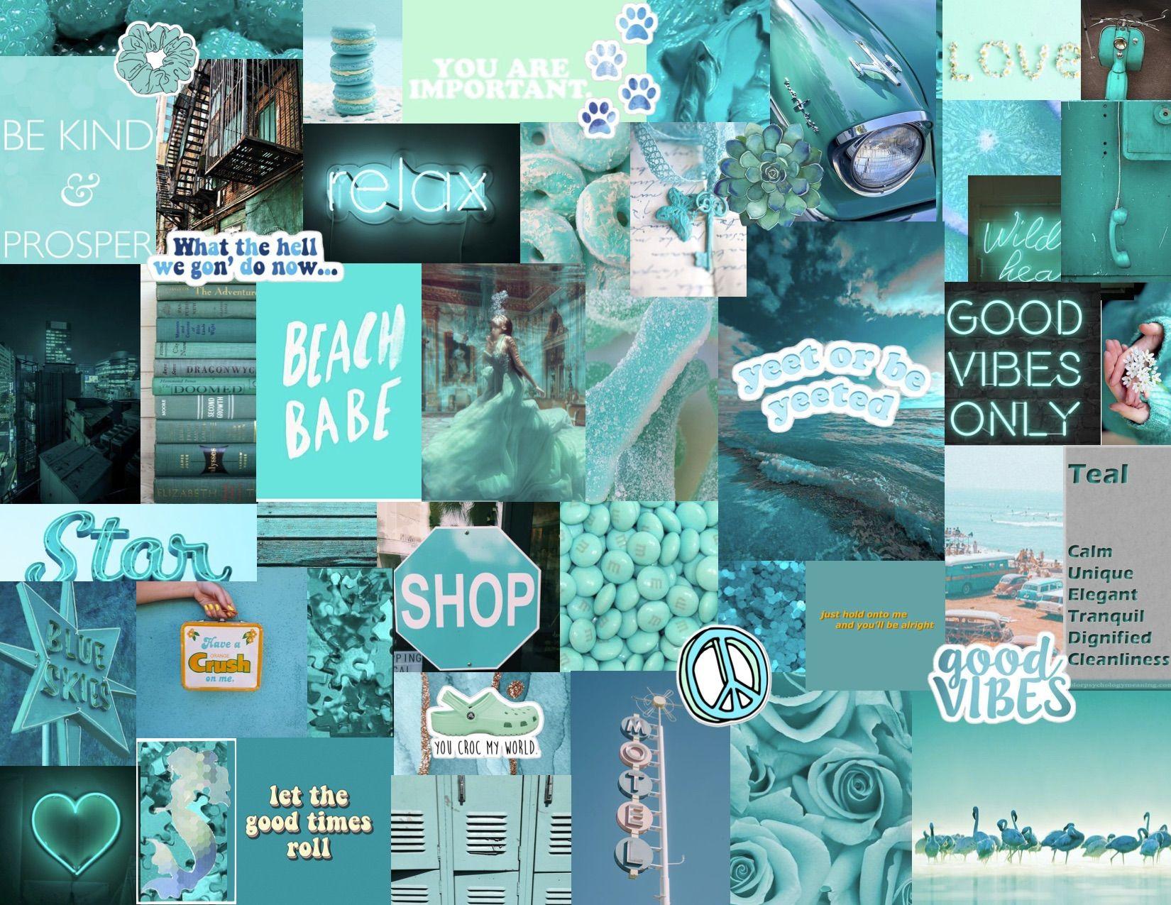 Teal Turquoise Aesthetic Desktop Wallpaper Laptop Wallpaper Laptop Wallpaper Desktop Wallpapers