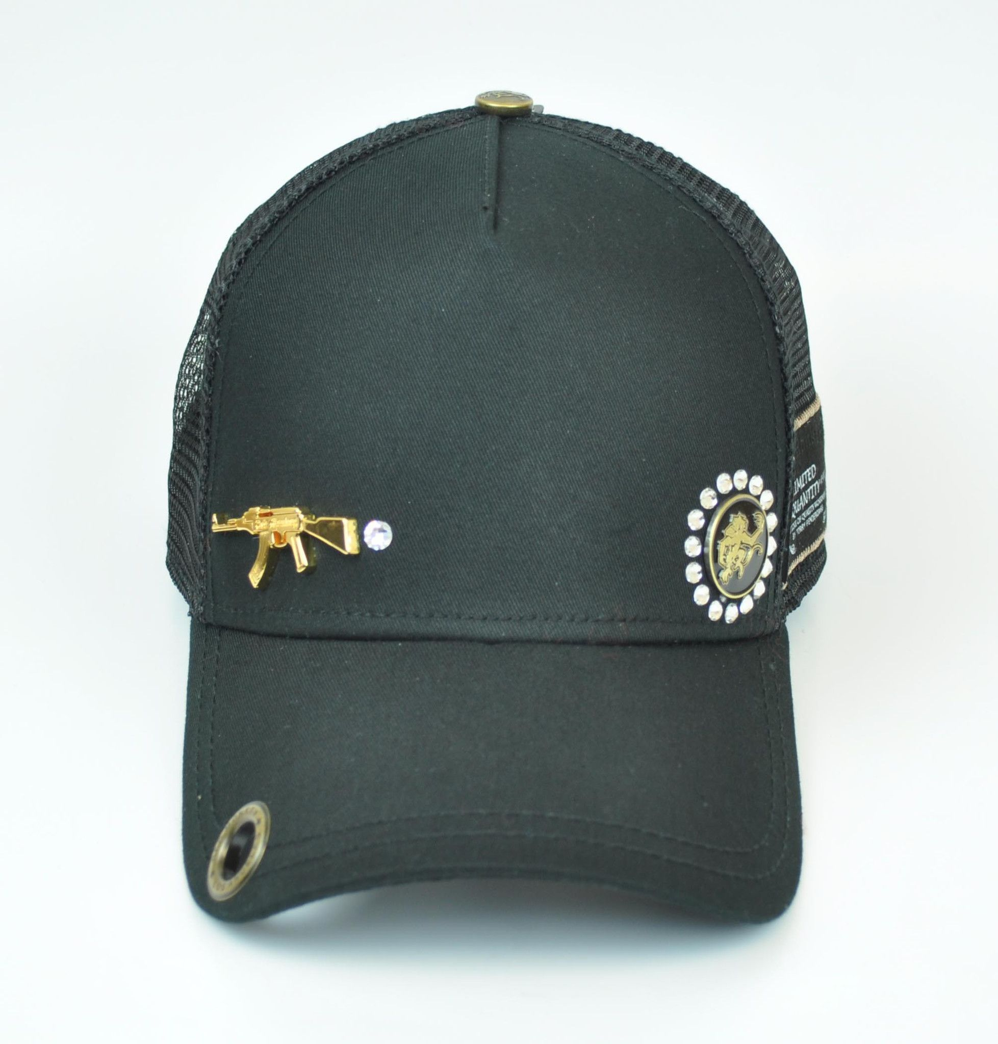 Red Monkey AK47 Exclusivo Edition Black Trucker Hat | Hats | Pinterest