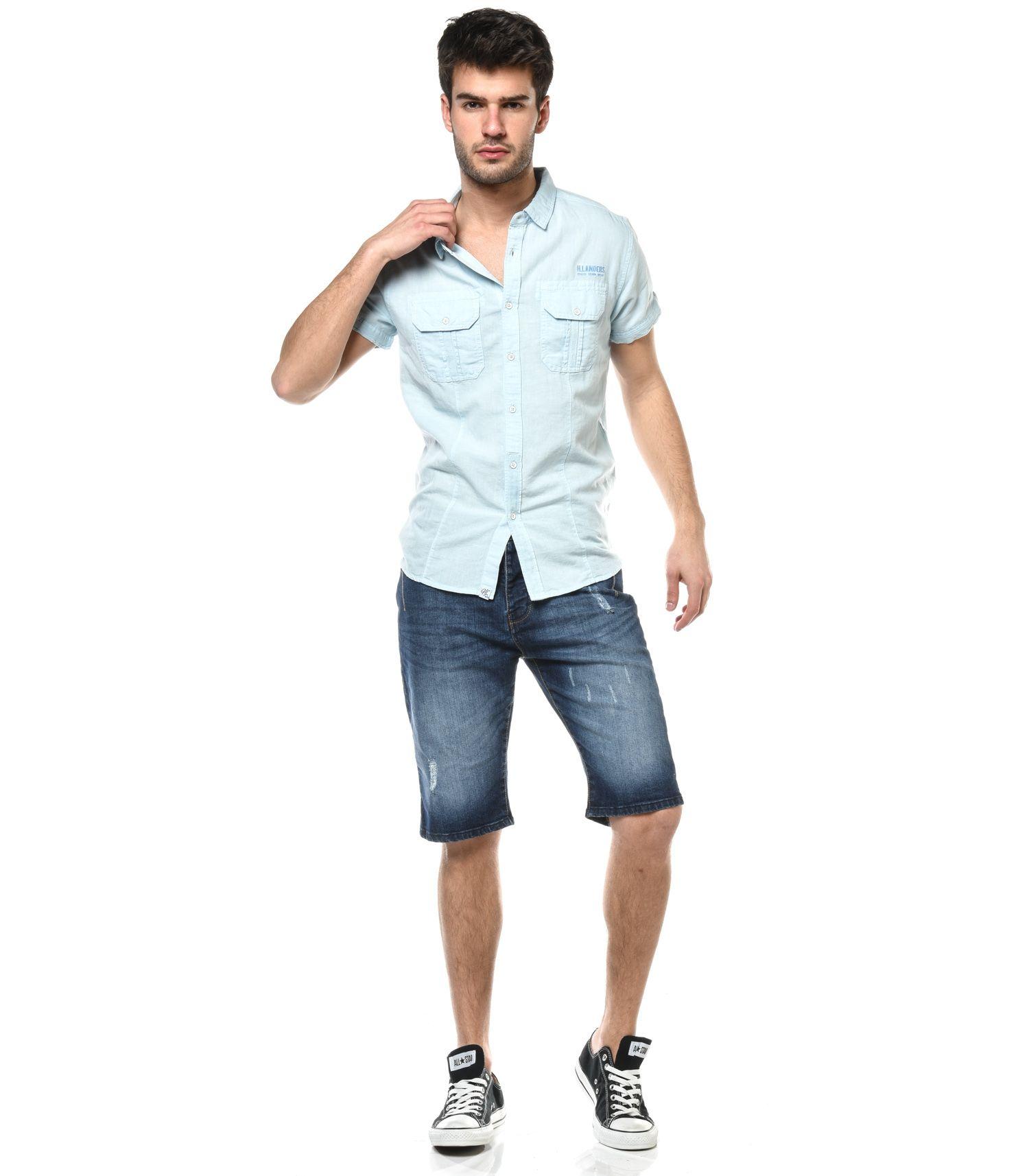 H.Landers Short Jeans HL Shores Mode Homme urban