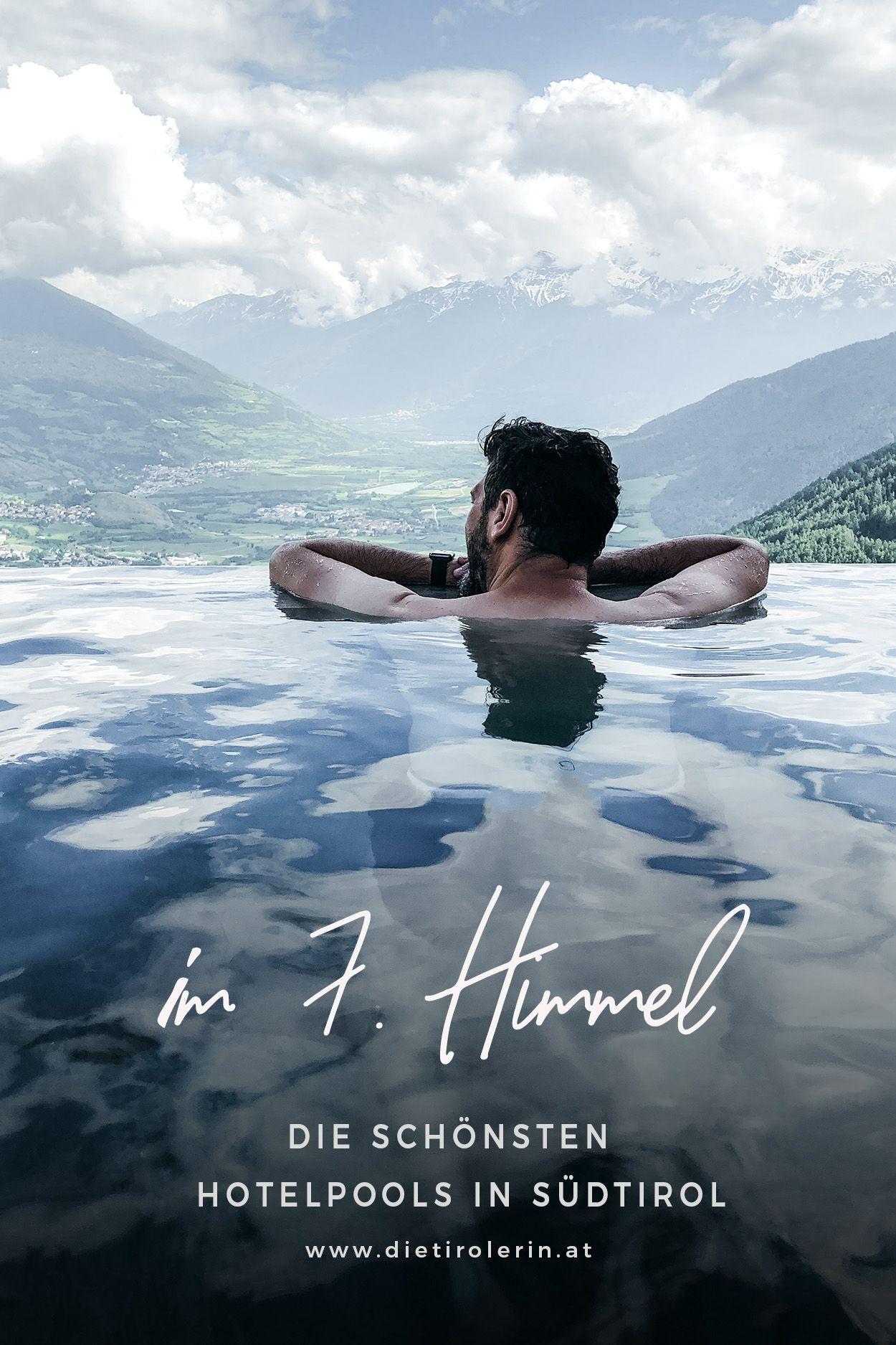 Photo of im 7. Himmel: die schönsten Hotelpools in Südtirol