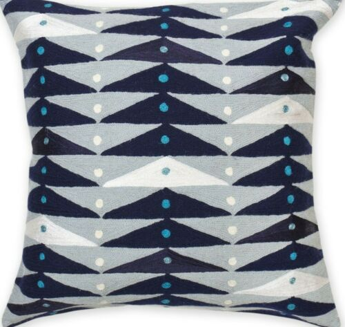 Details About Jonathan Adler Modern Brasilia Collector S Throw Pillow In Blue In 2020 Throw Pillows Jonathan
