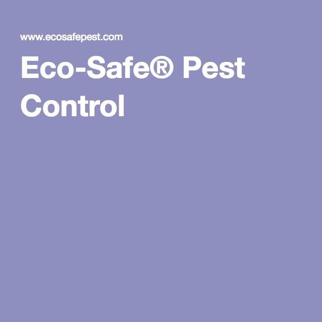 Eco-Safe® Pest Control
