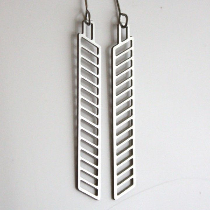 AA Audra Azoury Dangle Chevron Earrings from Domestica for $38.00