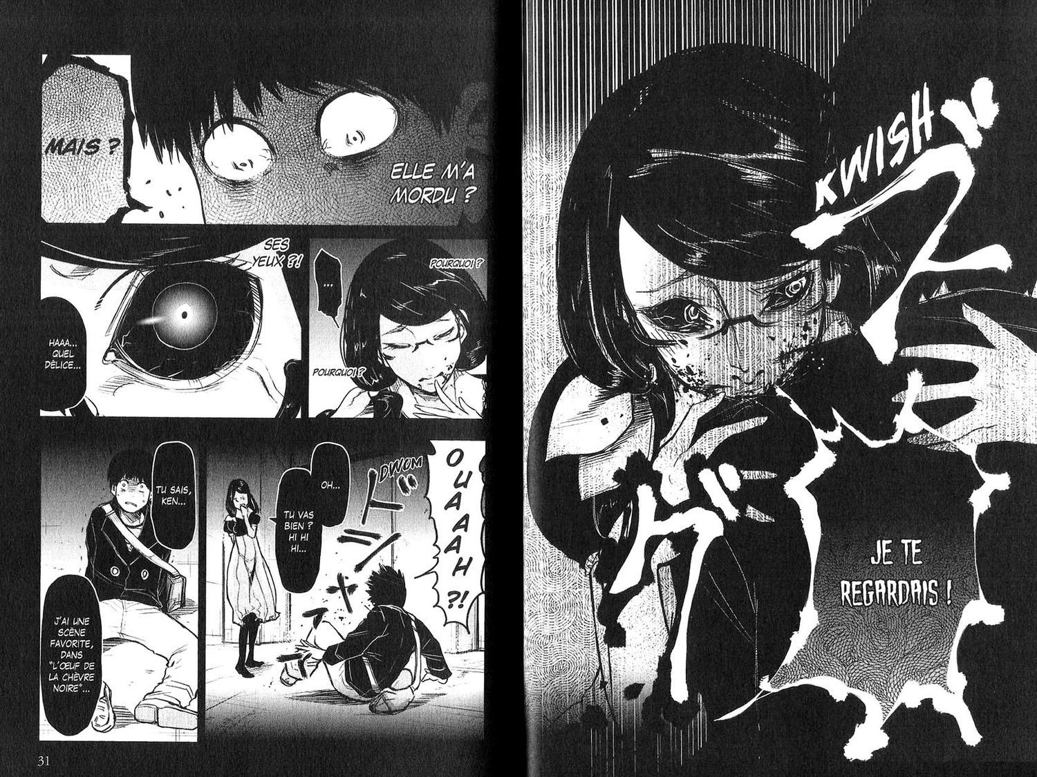 Scan Tokyo Ghoul Tome 1 Vf Page 17 Tokyo Ghoul Tokyo Anime