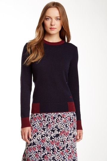 Mandy Wool Cashmere Blend Sweater by Tory Burch