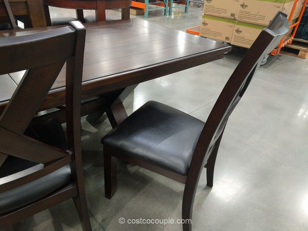Bayside Furnishings 9 Piece Dining Set Costco
