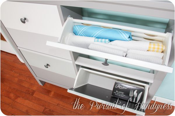 Ikea Hemnes Shoe Cabinet Hack Use To Hold Office Supplies