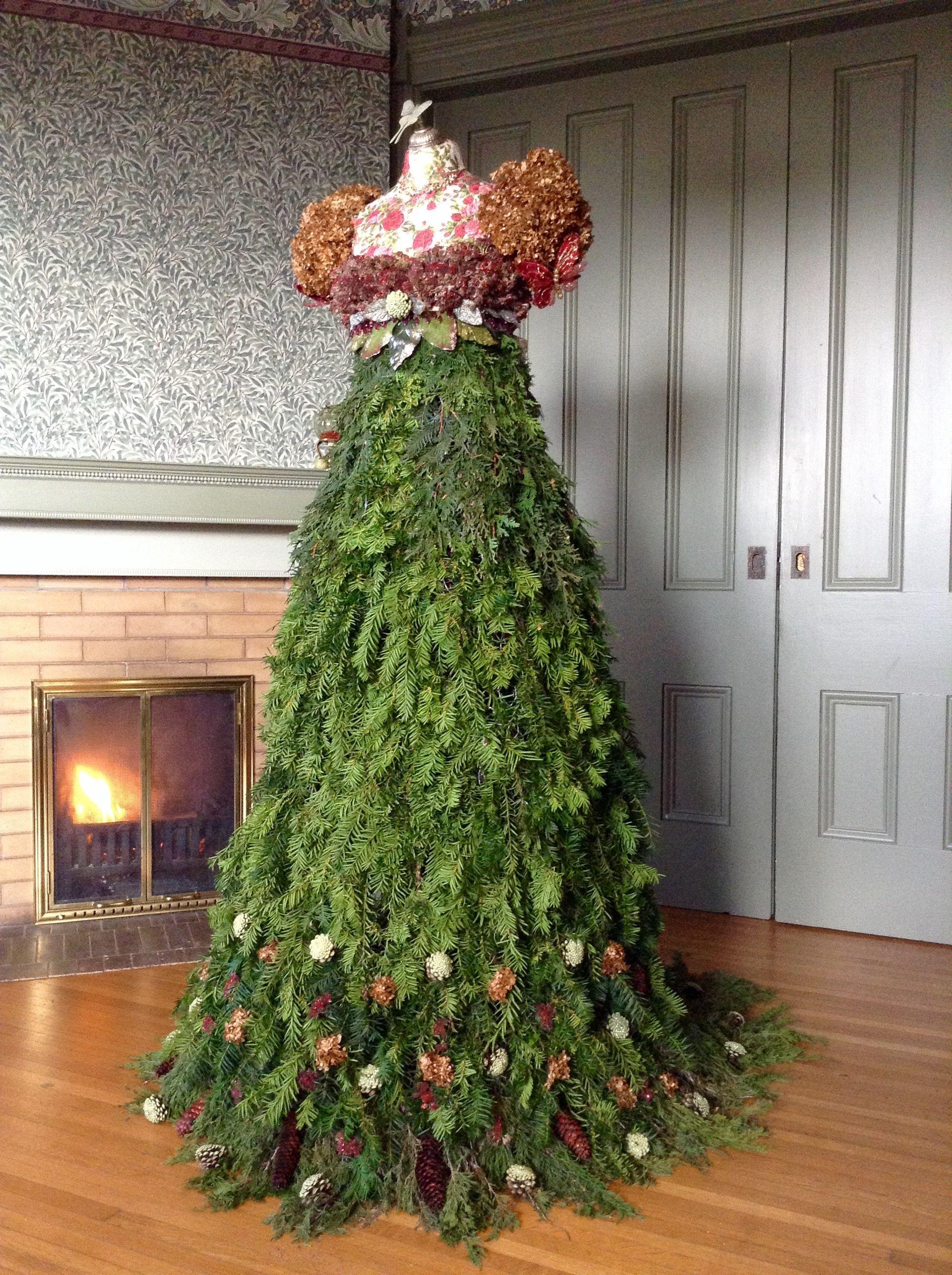 My Christmas tree gown 2016. Jane Austen's regency style - 1800s