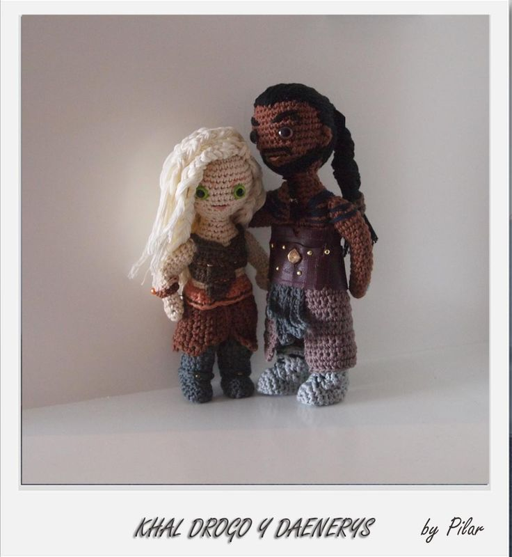Khal Drogo and Daenerys Targaryen (Game of Thrones) crochet ...