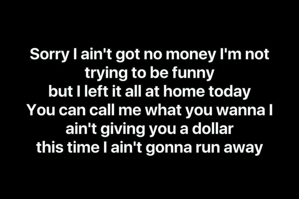 No money - galantis💜