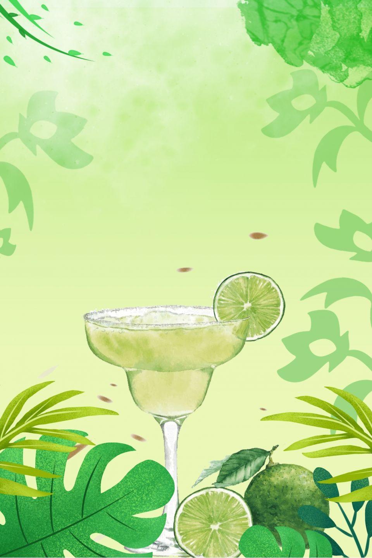 2020 的 Summer Lemon Green Background 主题
