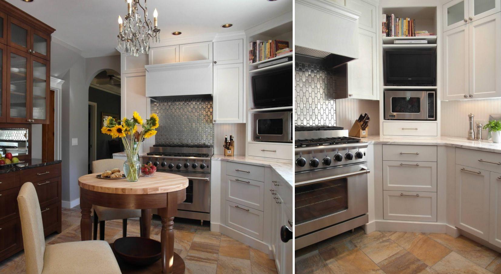 über küchenschrank ideen zu dekorieren  eckschrankideen die ihren küchenraum optimieren  küche