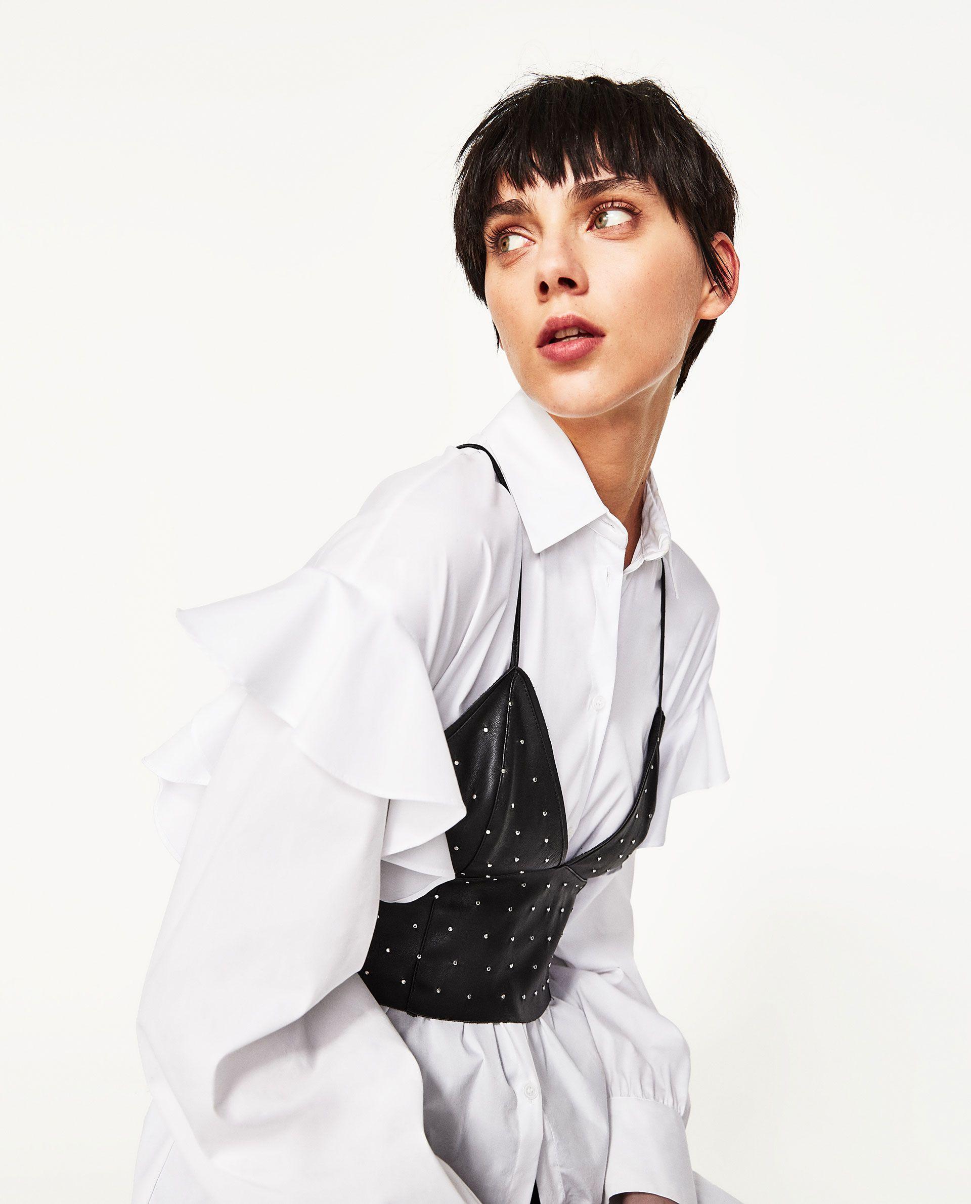 TOP BRA SIMILPELLE - Zara - 17,95 €