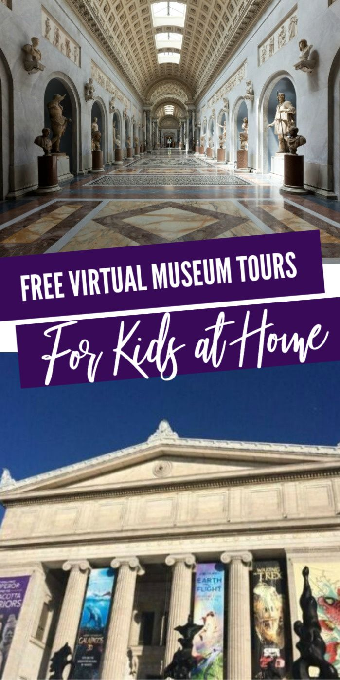 Free Virtual Museum Tours For Kids! Such a fun and