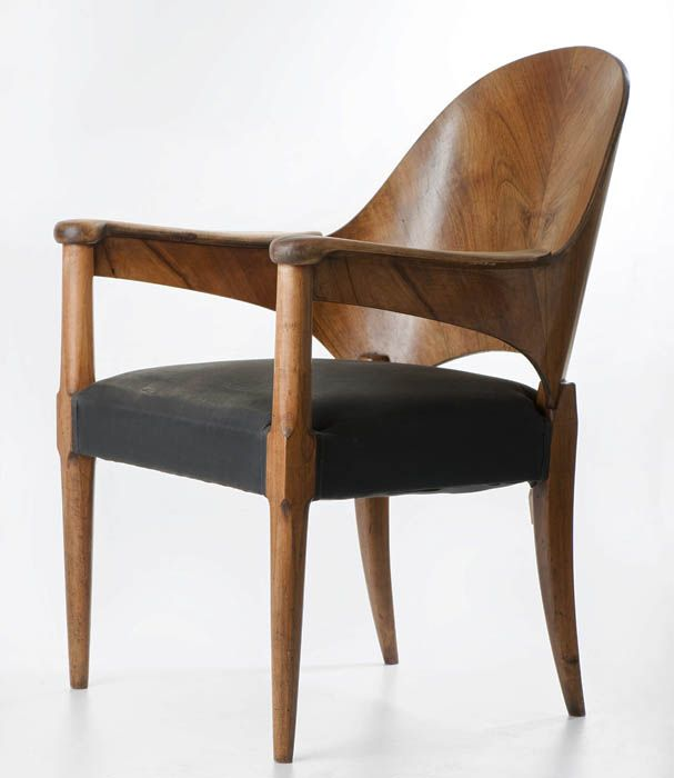 Maria Chomentowska, armchair, produced by the Furniture Wing of the Industrial Design Institute in Warsaw, 1954, collections of the National...