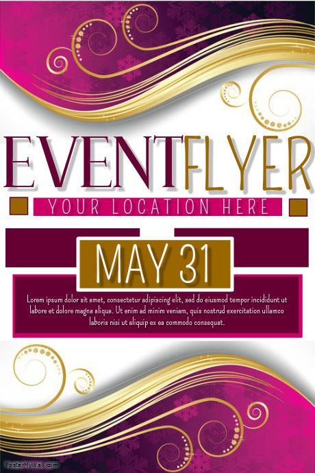PosterMyWall Event Flyers Professional event flyer Pinterest - event flyer
