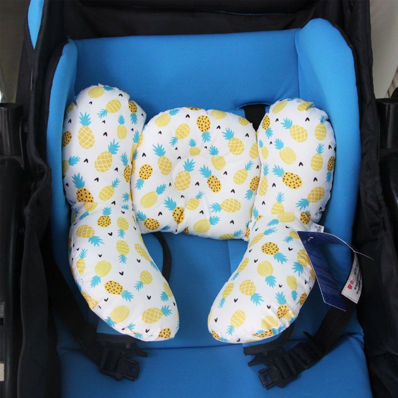 Baby Safety Head and Neck Support Cotton Pillow Head,